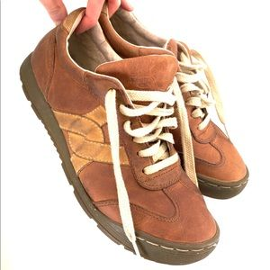 Dr. Martens | Retro Trainer Brown Tan Sneakers